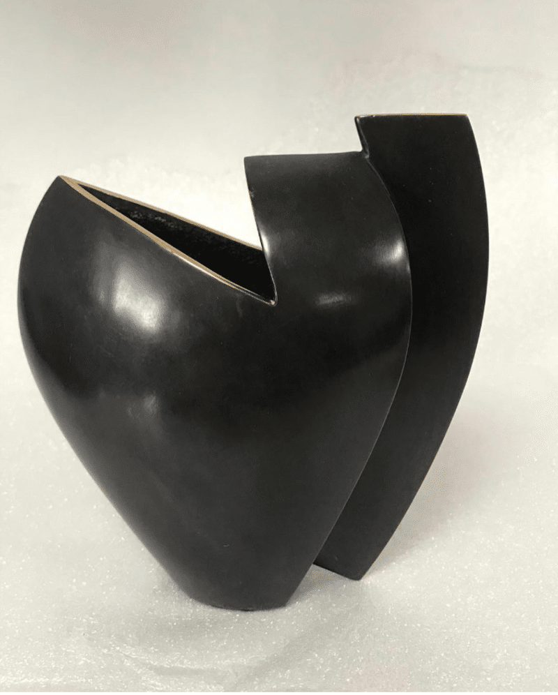 Patinated Bronze Vase