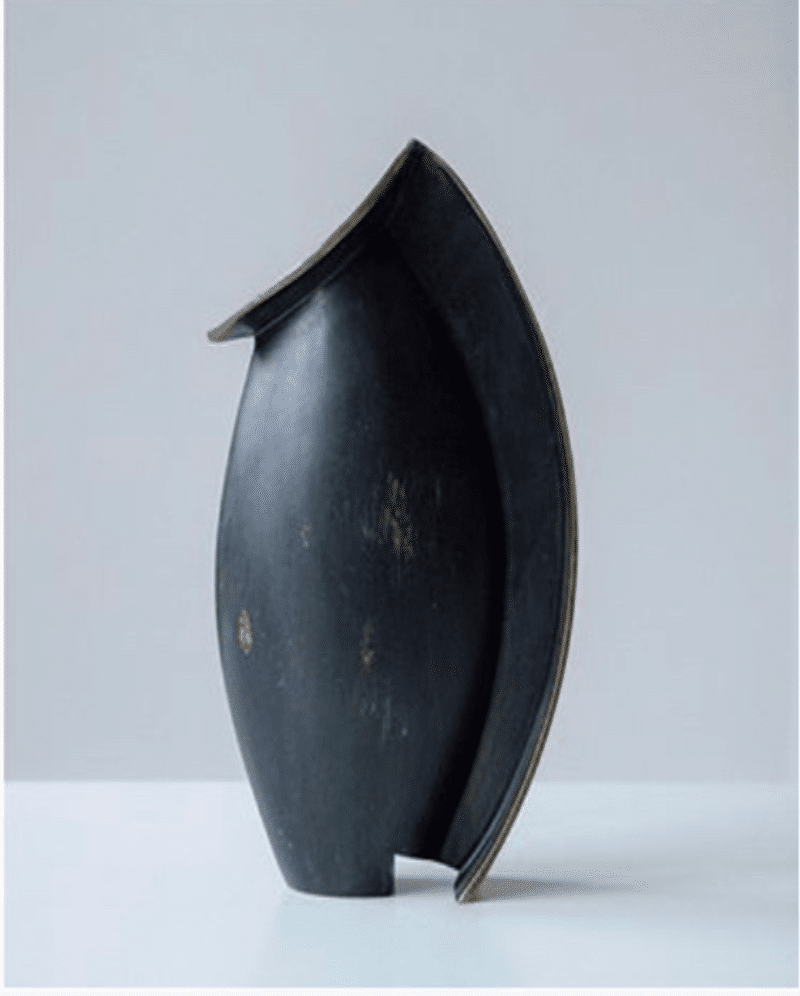 Patinated Bronze Vase