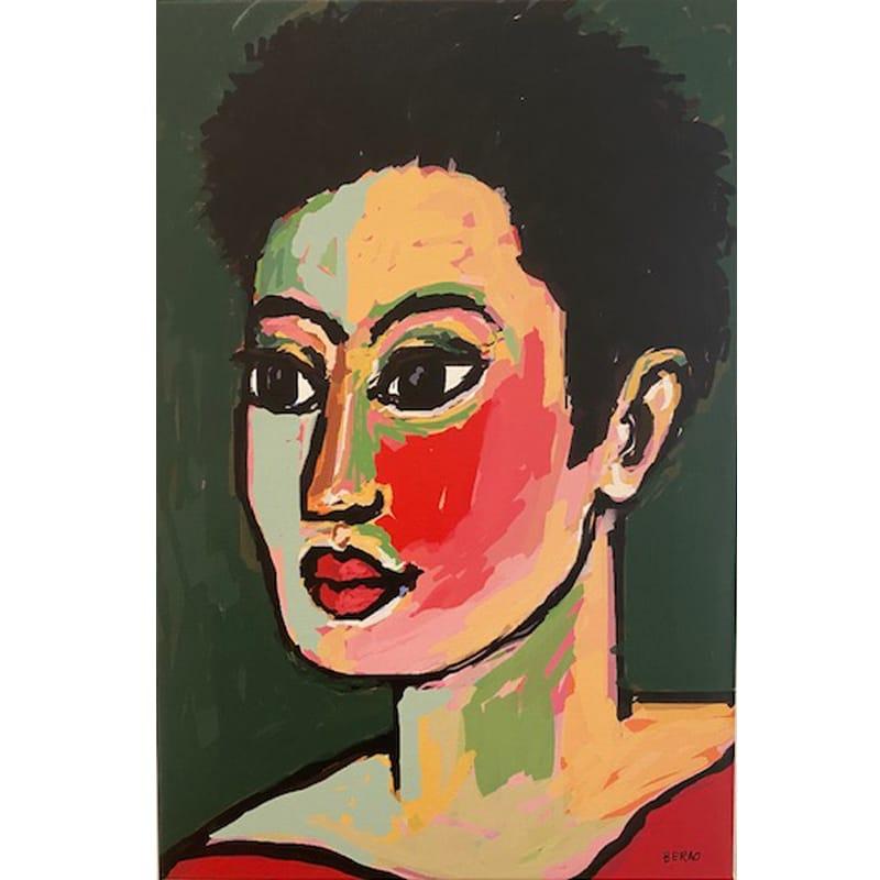 Pasión por la Cara, pintura digital